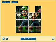 Jouer au jeu gratuit Mario Matrix Sliding