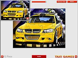 Permainan Sport Taxi Jigsaw