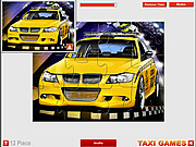 Sport Taxi Jigsaw game