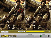Play Soldiers in action difference Game