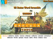 Play Us states word scramble Game