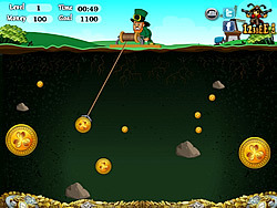 Jogar jogo grátis St Patricks Gold Miner