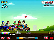 Urban Bike Race game