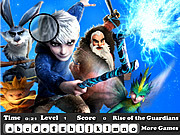 Play Rise of the guardians hidden letter Game