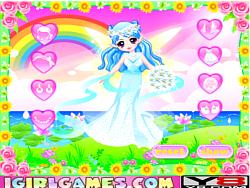 Cutie Fairy's Wedding Dress game