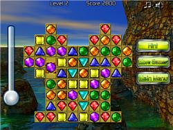 Jogar jogo grátis Galactic Gems 2 Level Pack