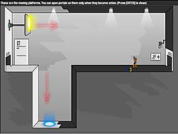 jeu Portal: The Flash Version