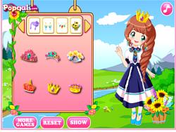 Cute flower princess game