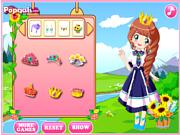 Play Cute flower princess Game
