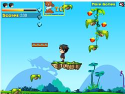 Stone Man Adventure game