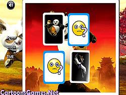 Kung Fu Panda Matching spel