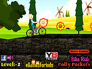 Play Polly pocket bike bike Game
