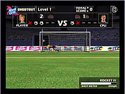 Play Soccer shootout Game