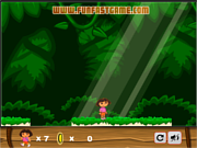 Play Dora the super treasure hunter Game
