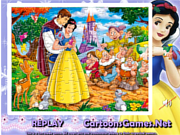 Play Snow white sort my jigsaw Game