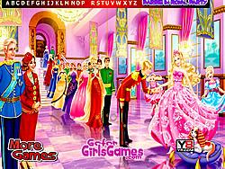 玩免费游戏 Barbie in Royal Party Hidden Letters