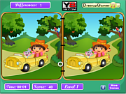 Dora's Lost Monkey game