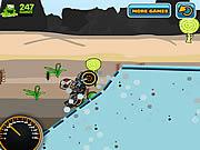 Funky Biker game