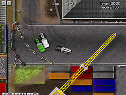Industrial Truck Racing game