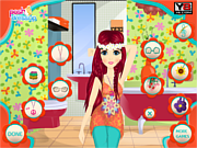 Play Flower power makeover Game