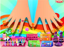 Spring Nail Art Design game