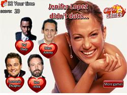 Permainan Celebrity Dating trivia