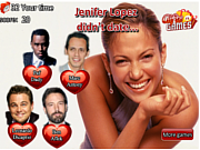 Play Celebrity dating trivia Game