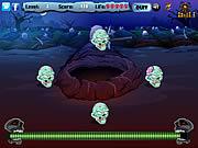 Spielen Sie das Gratis-Spiel  Zombie Skulls