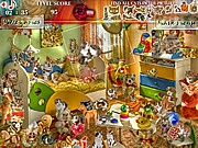 Play Mysteries of kitty room Game