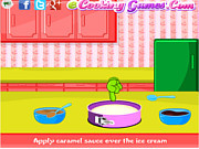 Play Ice cream sundae pie Game