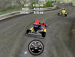 Juega al juego gratis Go Kart 3D