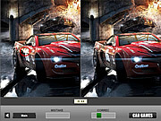 Play Fast cars - spot the differences Game