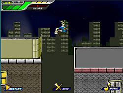 Rooftop Skater game