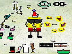 Permainan Sponge Bob Square Pants Dress up