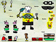 Play Sponge bob square pants dress up Game