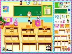 Classroom Make Over game