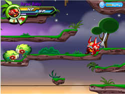 Fruity Robo Battle Biography game