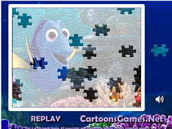 Finding Dory Sort My Jigsaw game