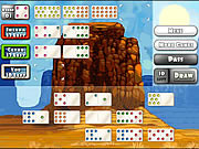 juego Mexican Train Dominoes Gold
