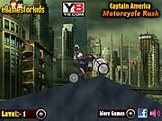 Chơi trò chơi miễn phí Captain America Motorcycle Rush