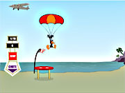 Daffy Duck Sky Diving game
