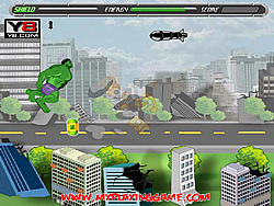 Hulk Escape game