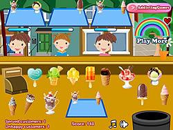 Permainan Ice Cream Stall
