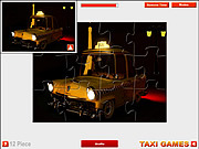 Paris Taxi Jigsaw game