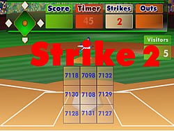 jeu Batter's Up Base Ball Math - Multiplication Ed
