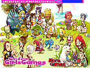 Cartoon Legends Hidden Letters game