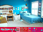 Play Purple room hidden objects Game