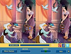 Флэш игра Золушка - Cinderella Difference.