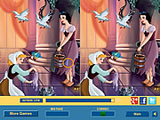 Play Cinderella difference Game