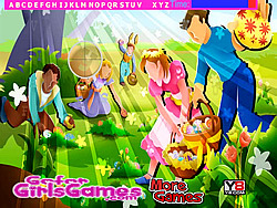 Easter Fun Hidden Letters game